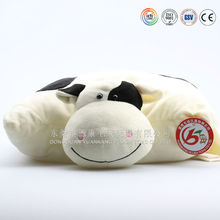 Cute stuffed baby bed plush panda cushion