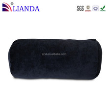 Memory Foam Petite Bolster Roll Round Pillow with Removable Cover,memory foam neck roll pillow