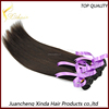 Grade 6A double wefts full cuticle and tangle free 100% unprocessed raw indian hair