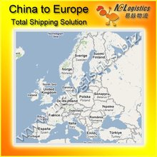 container sea freight from China to Germany