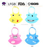 Animal products Hight quality Silicone baby christmas bibs ,Soft bib silicone waterproof bib for baby
