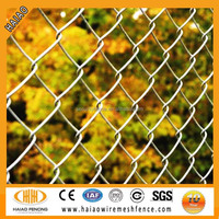 Chain link fence weave fabric, chain link fence weave mesh