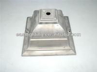OEM Metal Quadrangle Outdoor Lighting Accessories Lamp Cover