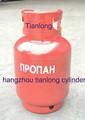 12L 5 kg LPG cilindro el caso de rusia