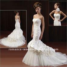 Ja0050 Exquisite Mermaid Strapless Wedding Dress