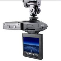 Hot selling 6IR night vision car blackbox dvr f198 hd portable dvr with 2.5 tft lcd screen driver
