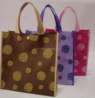 cheap fashion tnt bag/ non woven machine price/ non woven bag with pvc