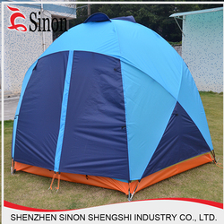 Eco-friendly double layers portable family tent yurt for outdoor camping