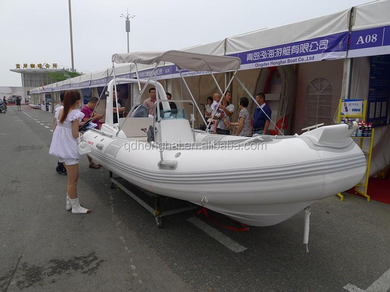 NOUVEAU rib520 bateau militaire pas cher en fiber de verre vague bateau à  vendre