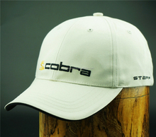 6 panel classice golf hat with sewn eyelets