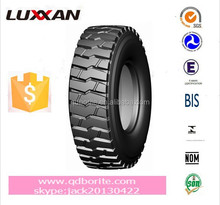 Radial truck tyres in drive position suitable for coal mine and mountainous region