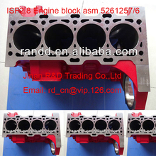 ISF2.8 ISF 2.8 genuine engine parts Cylinder Block assy 5261256,head assy 5261257