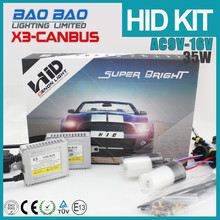 Economic Factory in China 35w hid xenon ki, canbus hid xenon kit AC 12v x3 BAOBAO Lighting