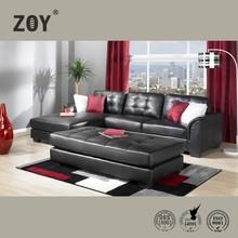 living room sofa furniture leather corner sofa designs metal leg sofa 96090