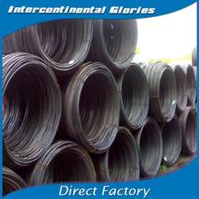 JIS carbon mild black steel wire rod coil/steel wire rope from Asia