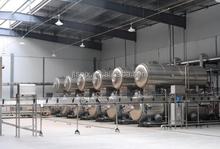 hot water circulating type sterilization pot