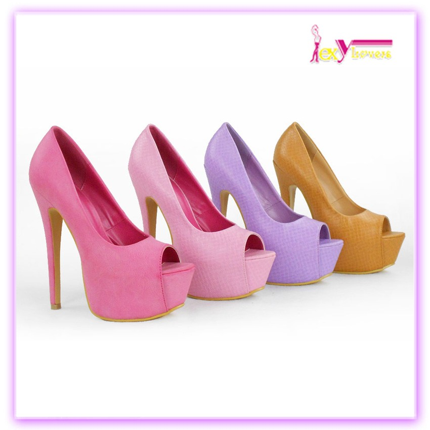 Dames sexe robe chaussures femmes plate - forme de talon chaussures filles mode chaussures