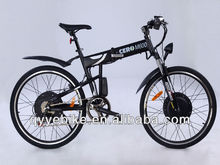 fashionable 26' foldable fast electric dirt bikes with 500W motor