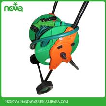Handle adjustable plastic Good Market Two Wheels water hose reel 100m