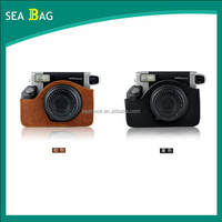 2015 The Newest PU Leather Camera Bag Case With Shoulder Strap Camera Accessories