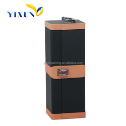 One bottle PU leather wine box,wine case,wine gift box