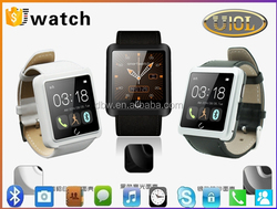 Trade Assurance hot sale mobile parter/ bluetooth watch/ U10L smart watch phone for android and ios