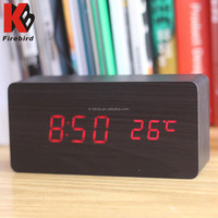 2015 best selling digital LED display cellular clock with competitive price