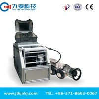 pan and tilt crawling camera pipe inspection system