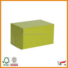 Cardboard box 1C 5-Layer BE-Flute Flexo Customized folding paper box for gifts