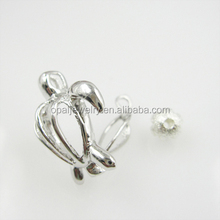 Delicate Animal Shaped Tortoise 925 Sterling Silver Pendant Charms