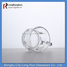 LongRun coffee cup set clear 5oz coffee glass cup with handles