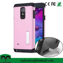 factory price pink cell phone case for samsung galaxy note 4 n9100
