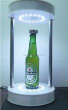 2015 new styish High quality Acrylic magnetic floating bottle display