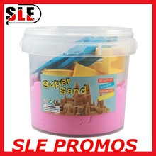 Newest DIY Alive Magic Modeling Super Sand Play Magic Sand Education Toy 1 kgs+ Molds in one bottle EN-71/ASTM