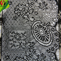 Paticular Wheel Shape Eyelash Nylon Lace Dress For Clothes