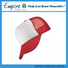 Red white mesh cotton wholesale promotion custom two tone baseball cap