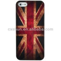 EarlyBirdSavings Retro the Union Flag the Union Jack Hard Case Cover for Apple iPhone4/4S iPhone 4/4S