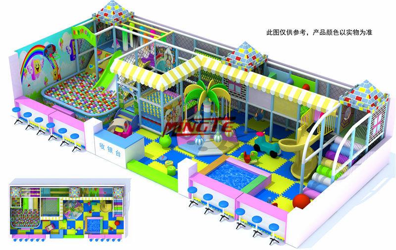 Mingte indoor playground kids indoor playground playground for Indoor gym equipment for preschool