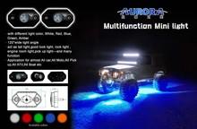 ip68 waterproof 12V Aurora LED rock lights, the ultimate strobe system