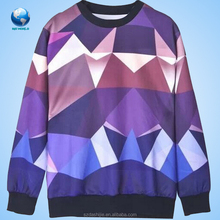 New arrival all over sublimation printing t-shirt&Unisex 3d space galaxy t-shirt sweater sweatershirt&cotton t-shirt sublimation