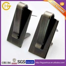 Gunmetal Plated Design Metal Pin Spring Buckle