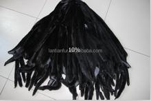 Male mink fur skin in black color/Raw mink skins/mink fur skin