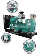 120kw/150kva cummins ac silent diesel generator importer