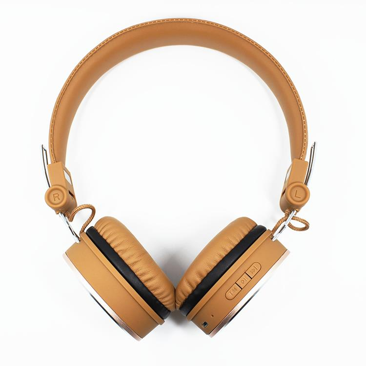 High-fidelity sound stereo bluetooth headset with mp3 player