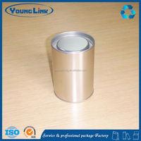 oval shape storage tin box