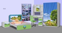 Bedroom furniture China Colorful patter for Children Enterprise#913C
