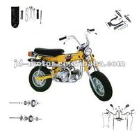Chinese motorcycle spare parts monkey bike