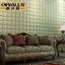 Anti-collision Leather wall panel for children bedroom