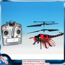 nuevo diseño especial juguetes 2.4G 4.5channel gw-ts700 vuelo Ala volante libélula control remoto helicóptero rc para la venta