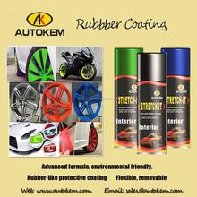 400ml/ 450ml fast dry peelable Plasti Dip Rubber Paint